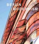 libro Berlin Modernism
