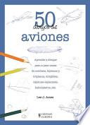 libro 50 Dibujos De Aviones