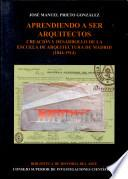 libro Aprendiendo A Ser Arquitectos