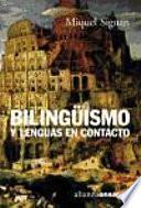 libro Bilingüismo Y Lenguas En Contacto