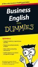 libro Business English Para Dummies