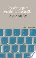 libro Coaching Para Escribir Un Bestseller
