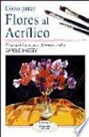 libro Cómo Pintar Flores Al Acrílico