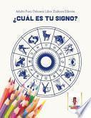 libro ¿cuál Es Tu Signo?