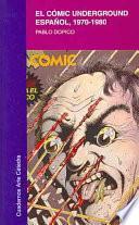 libro El Cómic Underground Español, 1970 1980