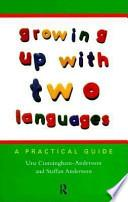 libro Growing Up With Two Languages