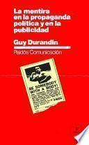 libro La Mentira En La Propaganda Política Y En La Publicidad