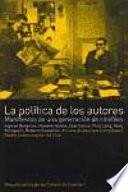 libro La Política De Los Autores