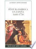 libro Pintura Barroca En España (1600 1750)