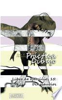 libro Práctica Dibujo   Libro De Ejercicios 15: Dinosaurios