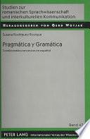 libro Pragmática Y Gramática