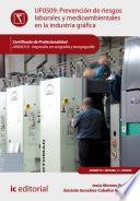 libro Prevención De Riesgos Laborales Y Medioambientales En La Industria Gráfica. Argi0310