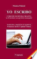 libro Yo Escribo