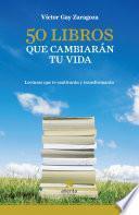 libro 50 Libros Que Cambiarán Tu Vida