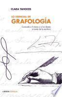 libro Lo Esencial De Grafología
