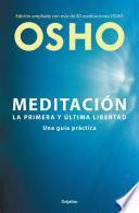libro Meditación (edición Ampliada Con Más De 80 Meditaciones Osho)