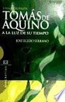 libro Tomás De Aquino A La Luz De Su Tiempo