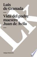 libro Vida Del Padre Maestro Juan De Ávila