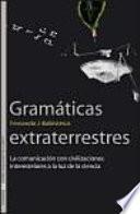 libro Gramáticas Extraterrestres