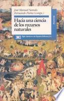 libro Hacia Una Ciencia De Los Recursos Naturales