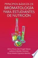 libro Principios Basicos De Bromatologia Para Estudiantes De Nutricion