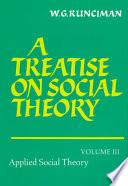 libro A Treatise On Social Theory