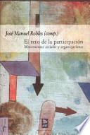 libro El Reto De La Participación