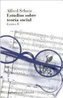 libro Estudios Sobre Teoría Social