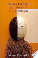 libro Introducción A La Etnología