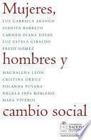 libro Mujeres, Hombres Y Cambio Social