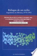 libro Ráfagas De Un Exilio
