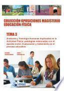 libro Colección Oposiciones Magisterio Educación Física. Tema 3