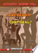 libro ¿cuánto Sabes De Expresión Corporal?