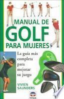 libro Manual De Golf Para Mujeres