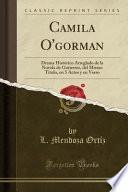 libro Camila O Gorman