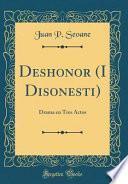 libro Deshonor (i Disonesti)