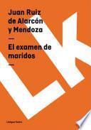 libro El Examen De Maridos