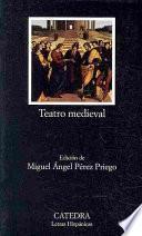 libro Teatro Medieval