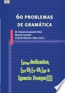 libro 60 Problemas De Gramática