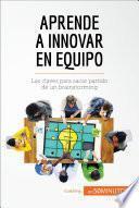 libro Aprende A Innovar En Equipo
