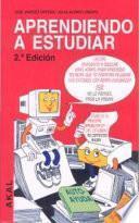 libro Aprendiendo A Estudiar