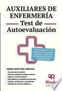 libro Auxiliares De Enfermería. Test De Autoevaluación. Servicio De Salud De Castilla Y León