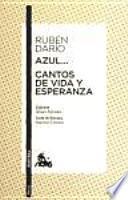 libro Azul... / Cantos De Vida Y Esperanza