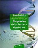 libro Bioquímica De Los Procesos Metabólicos