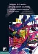 libro Didáctica De La Música En La Educación Secundaria