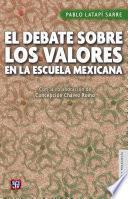 libro El Debate Sobre Los Valores En La Escuela