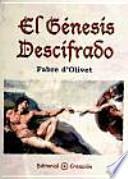 libro El Génesis Descifrado
