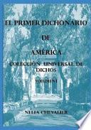 libro El Primer Dichonario De Am