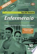 libro Enfermera/o De Osakidetza Servicio Vasco De Salud. Test Del Temario