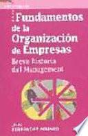 libro Fundamentos De La Organización De Empresas